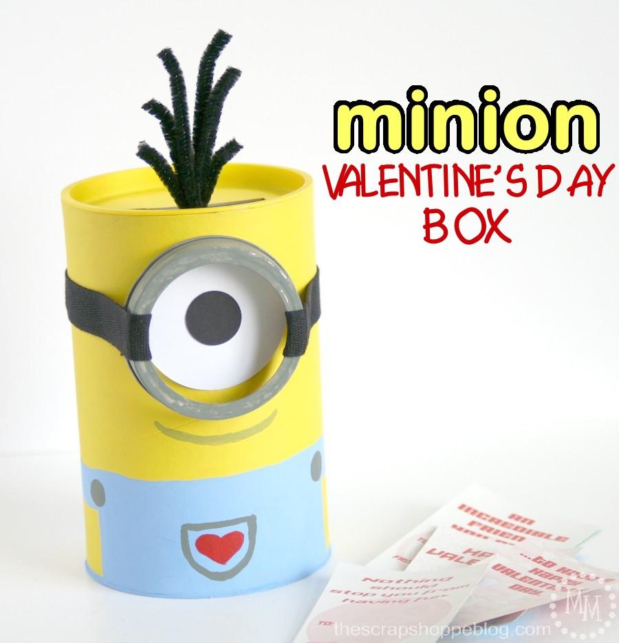 Minion Valentine S Day Box