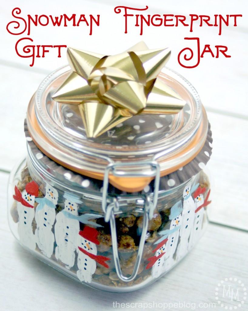 snowman-fingerprint-gift-jar