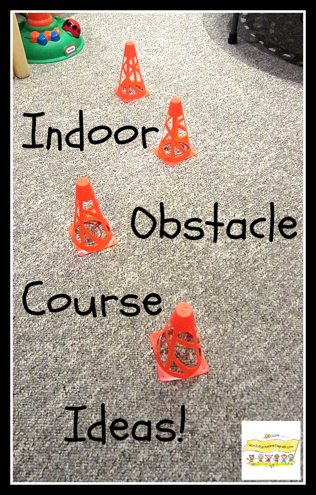 DIY Indoor Boredom Busters for Kids - Indoor Obstacle Course Ideas