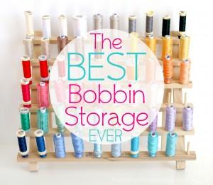 Best Bobbin Storage Idea EVER!