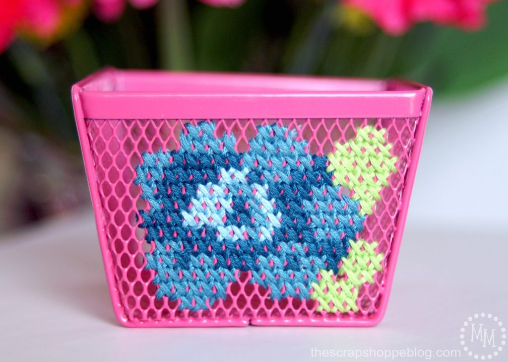 cross-stitch-flower