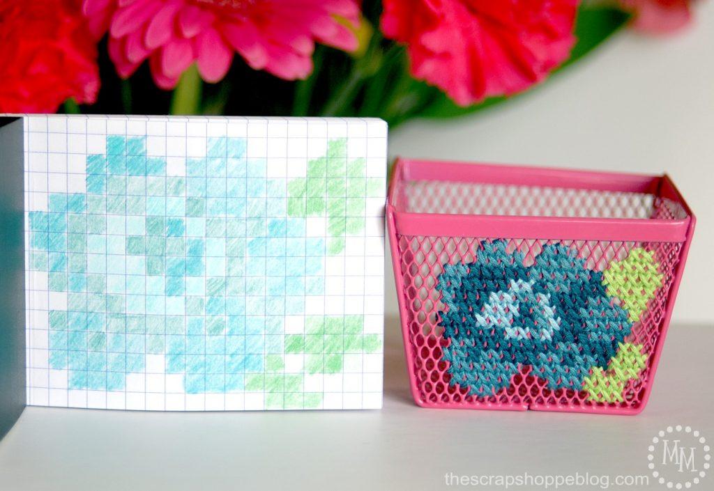 Elegant Cross Stitch Storage