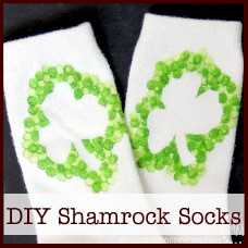 diy-shamrock-socks