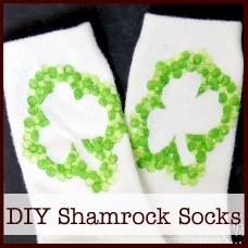 diy-shamrock-socks