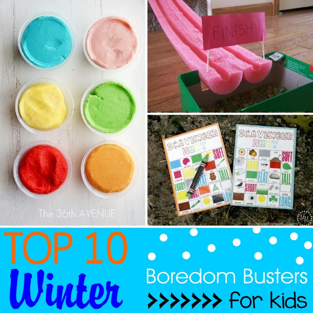 DIY Indoor Boredom Busters for Kids