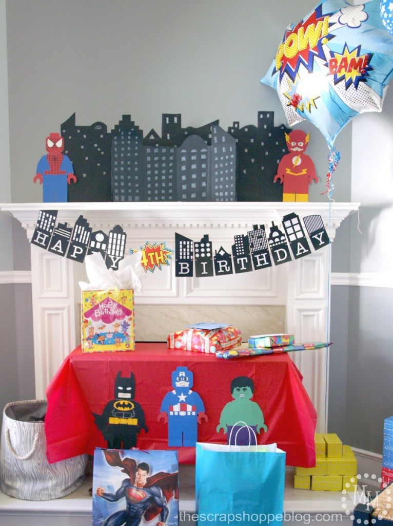 Lego Superhero Birthday Party  The Scrap Shoppe. Wedding Decor Rental Chicago. Used Dining Room Table And Chairs. Decorative Planter. Wholesale Nautical Decor Suppliers. Decorative Pillow Covers. African Home Decor Catalog. Room Closets. Entranceway Decorating Ideas