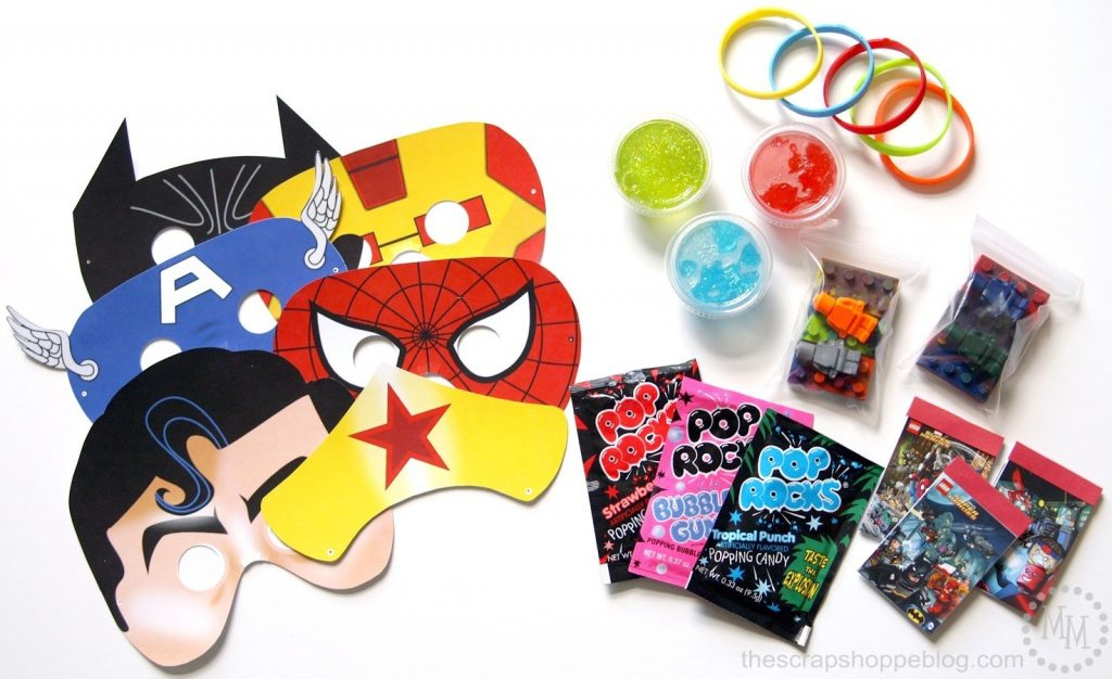 Lego Superhero Party Supplies