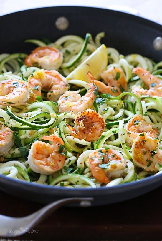 shrimp-zoodles