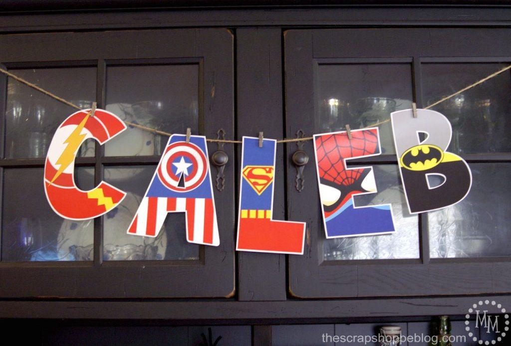 superhero-letters