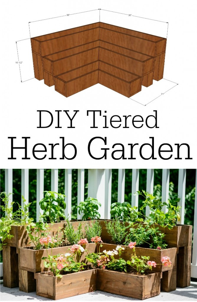 DIY+Tiered+Herb+Garden+Tutorial