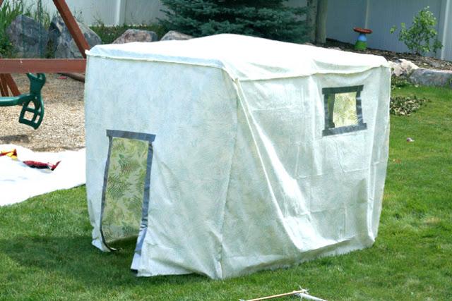 PVC-sprinkler-playhouse
