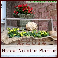 house-number-planter