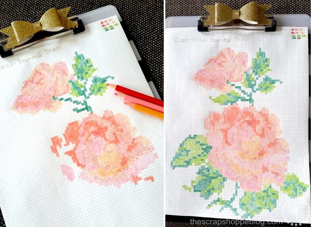 rose-cross-stitch-pattern
