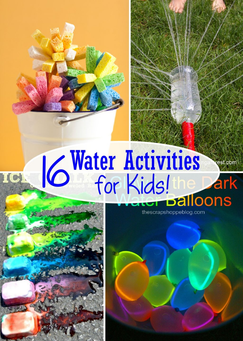16 Water Activities for Kids - The Scrap Shoppe