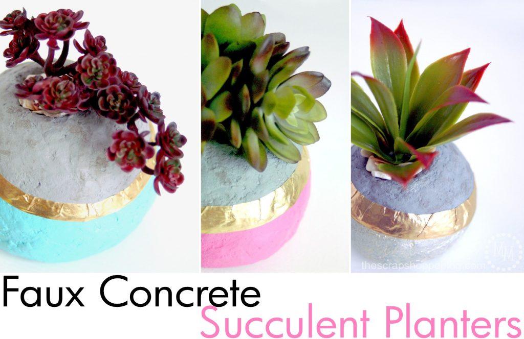 faux-concrete-succulent-planters