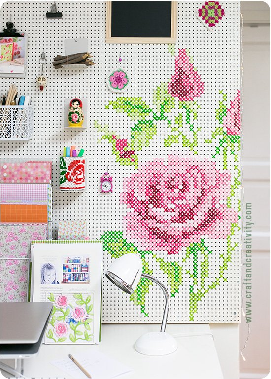 painted-cross-stitch-pegboard
