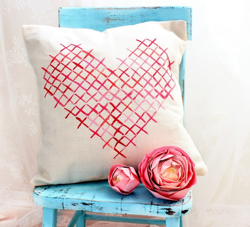 painted-cross-stitch-pillow