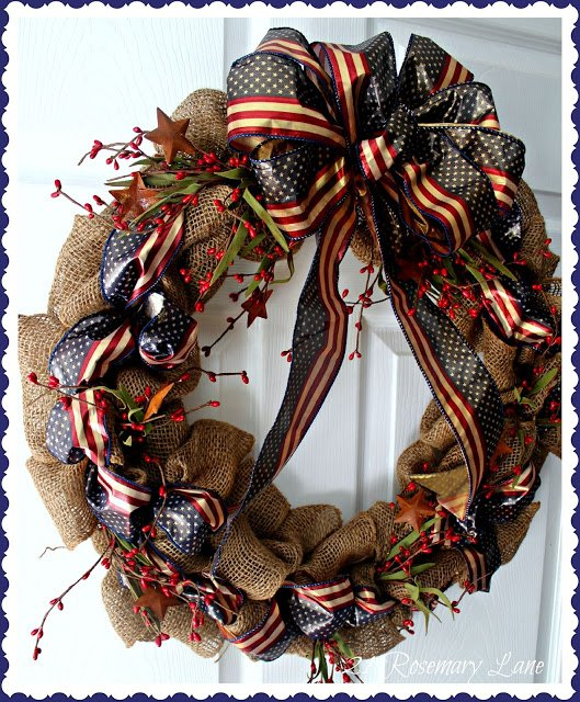 patriotic burlap wreath 7
