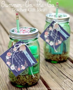 Summer on the Go Kit - perfect for a end of the year teacher gift!