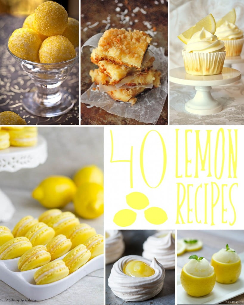 40 Lemon Recipes