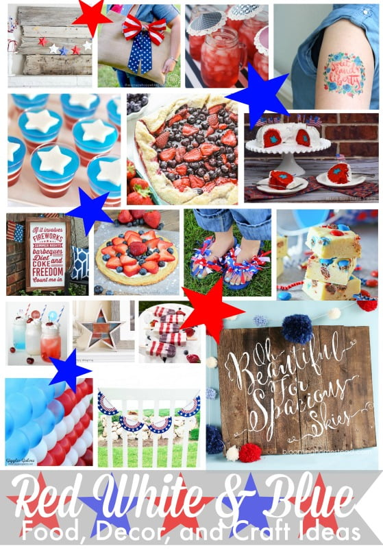 Patriotic Craft and Food Projects
