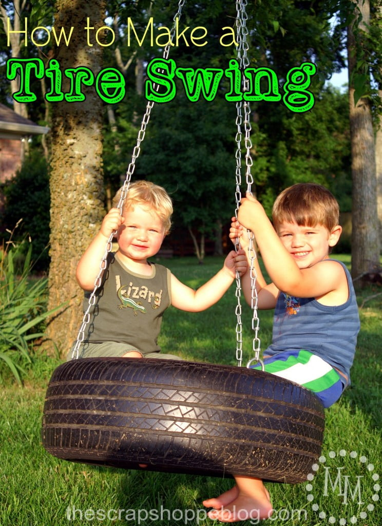 how-to-make-tire-swing