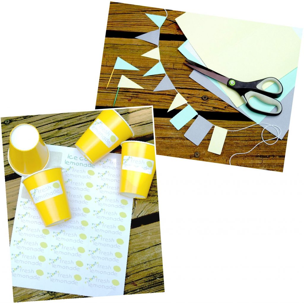 DIY Lemonade Stand Label Kit
