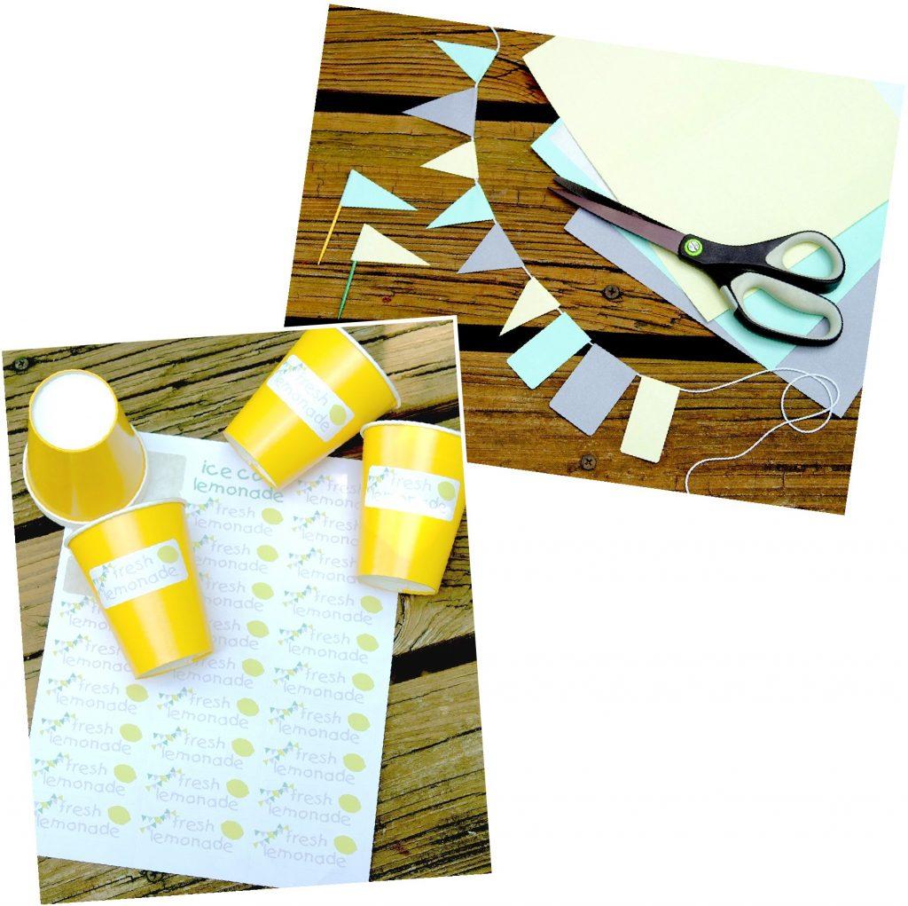 DIY Lemonade Stand Label Kit