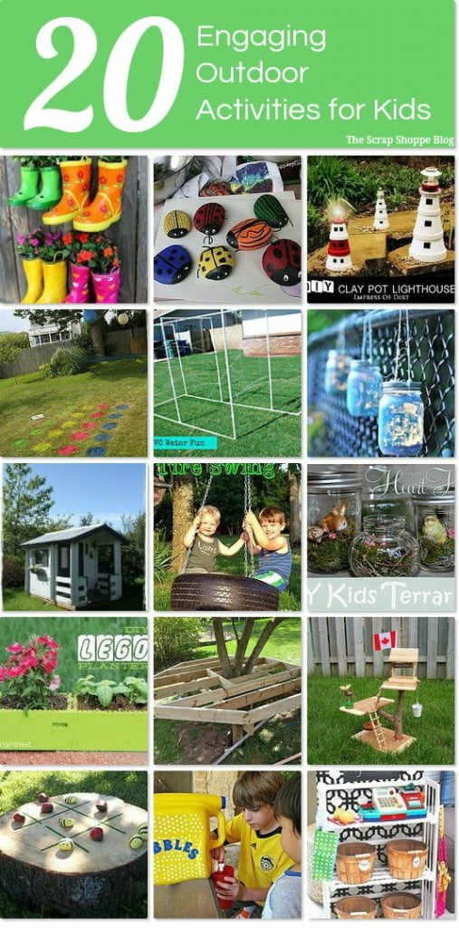 20 Outdoor Activities for Kids