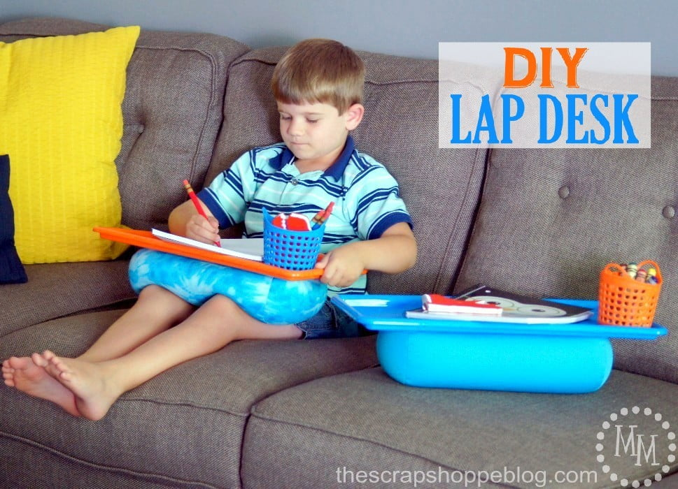Create a 5 Minute DIY Lap Desk!