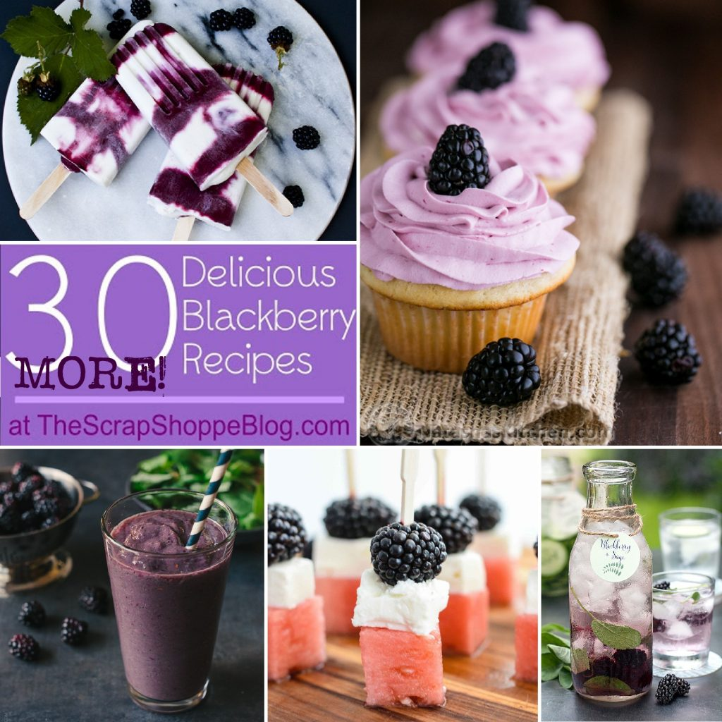 30 {MORE!} Delicious Blackberry Recipes