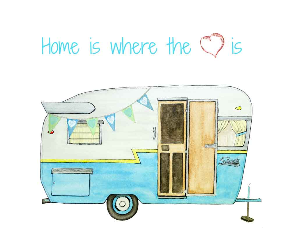 Vintage Camper Printable From Just Paint It