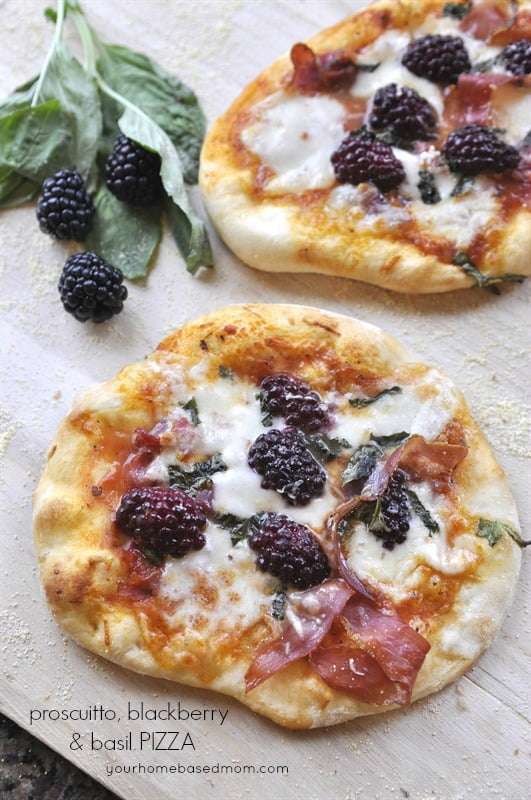 Proscuitto-Blackberry-and-Basil-Pizza