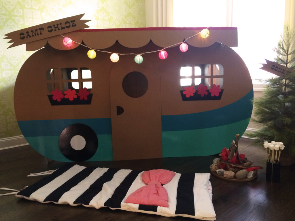 Cardboard Party Camper From Project Nursery