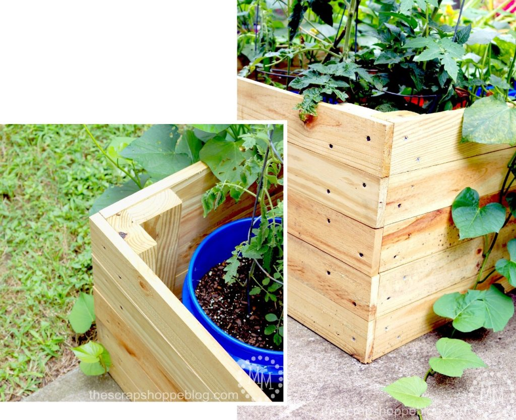 DIY Container Garden Enclosure The Scrap Shoppe