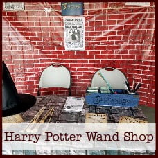 Harry Potter Wand Shop Printables