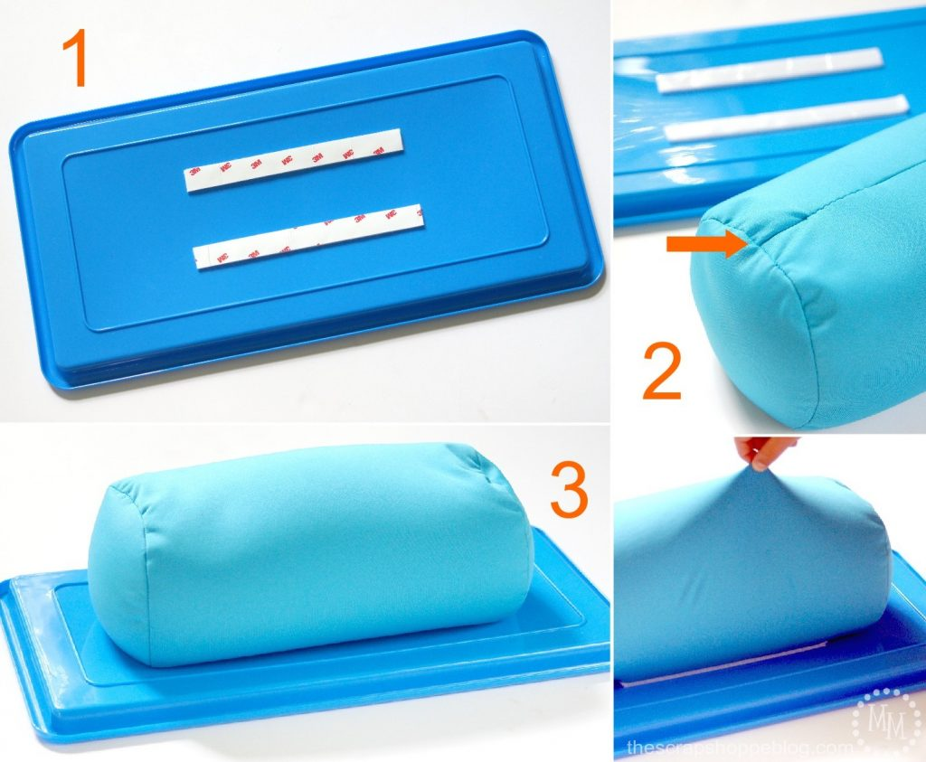 Create a 5 Minute DIY Lap Desk!