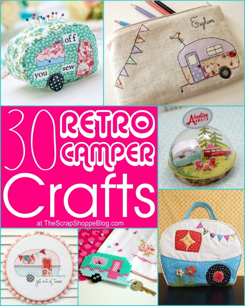 30 Retro Camper Crafts
