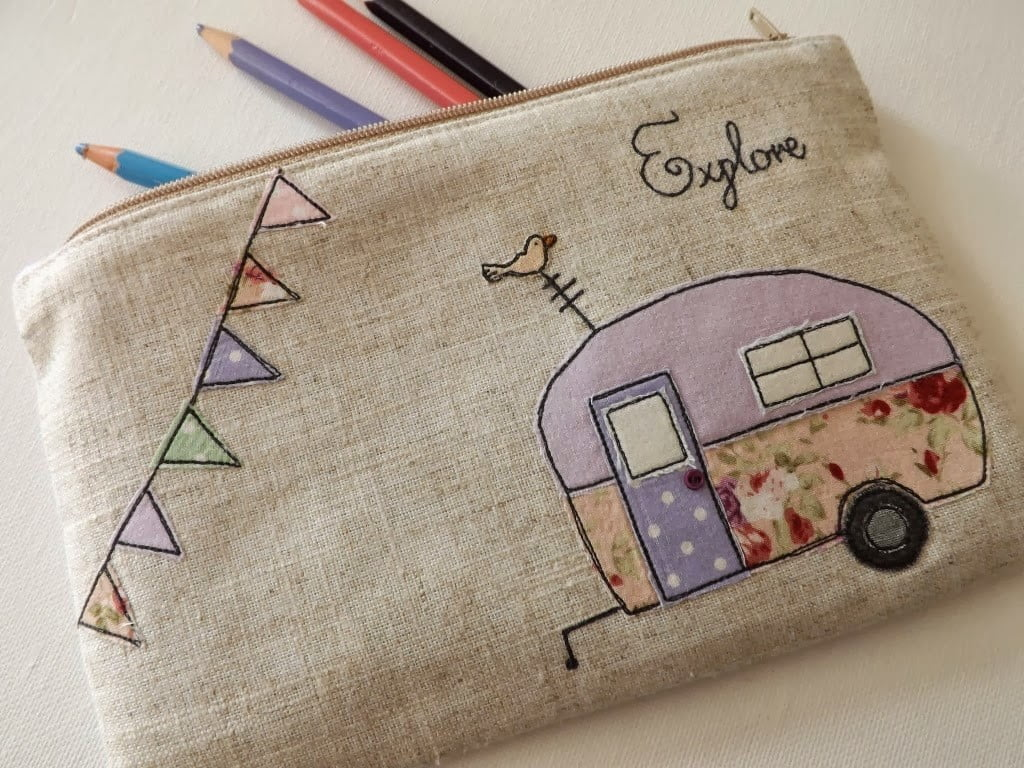 Travel Trailer Embroidery Designs
