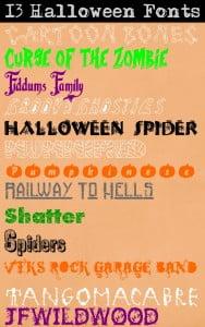 13 Halloween Fonts