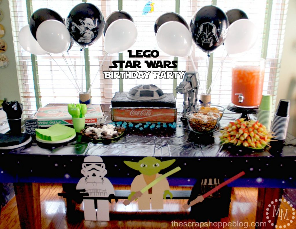 LEGO Star Wars Birthday Party The Scrap Shoppe