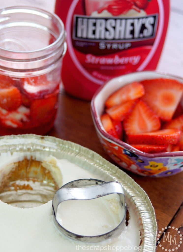 Individual Strawberry Cheesecake Trifles - aka the EASIEST dessert EVER!