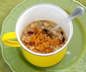 Quick & Easy Oatmeal Breakfast #brewyourbreakfast