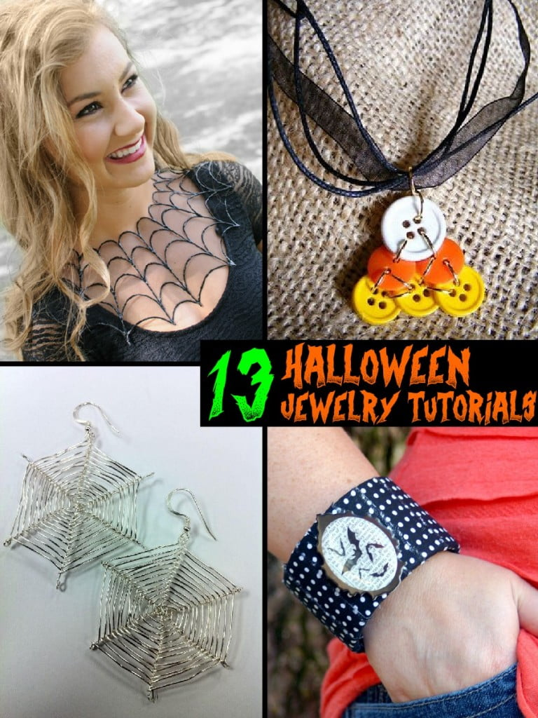 13 Spooky Halloween Jewelry Tutorials