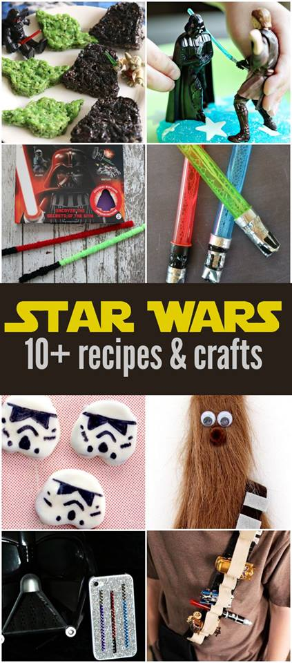 Star Wars Recipes & Crafts