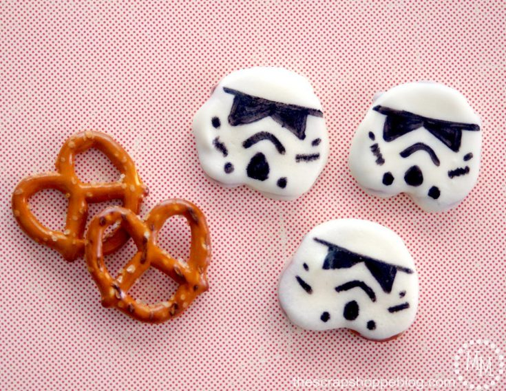 Easy Star Wars Stormtrooper Snacks