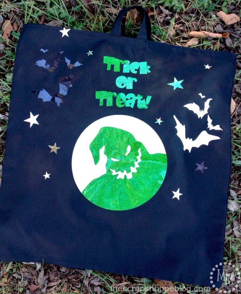 Nightmare Before Christmas glow in the dark trick or treat bags!