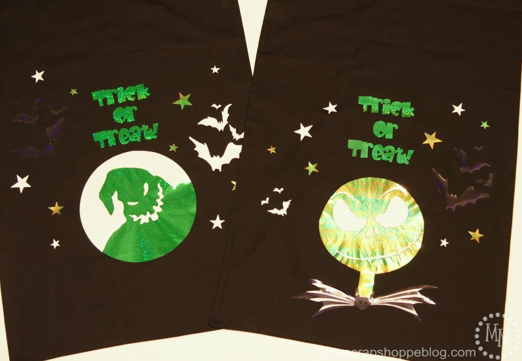 Nightmare Before Christmas Trick or Treat Bags - The Scrap Shoppe