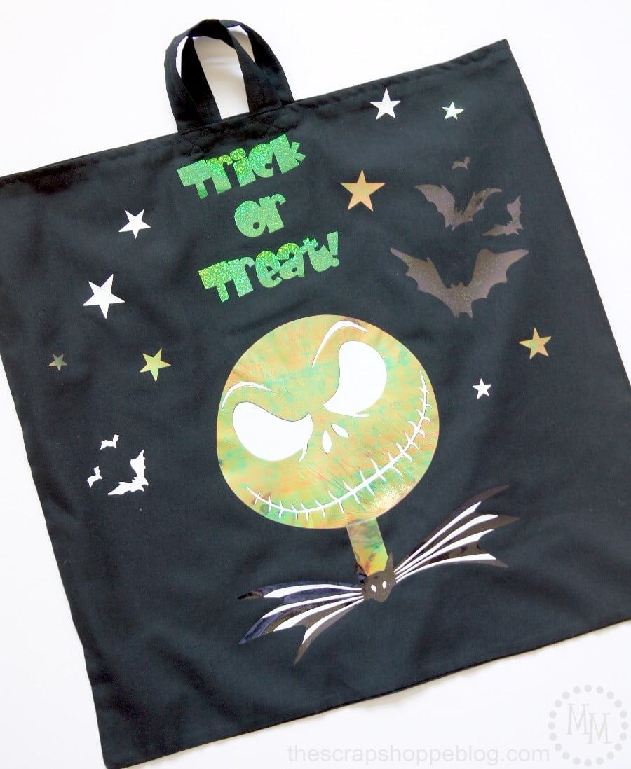 Nightmare Before Christmas Trick Or Treat Bags The Scrap