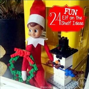 24 FUN Elf on the Shelf Ideas!